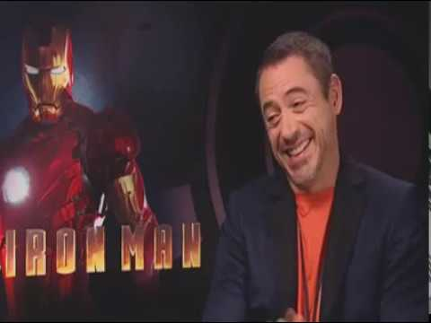 Robert Downey Jr star of Iron Man 2 & Sherlock Holmes