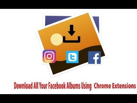 Download photo album from facebook