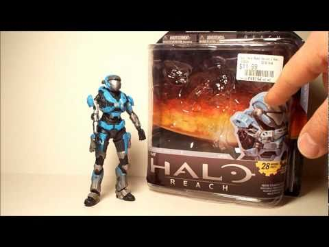HALO REACH KAT SERIES 2 XBOX 360 MCFARLANE ACTION FIGURE TOY REVIEW