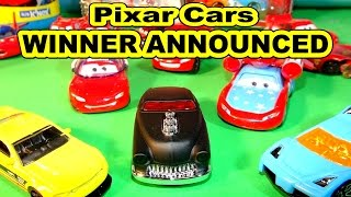 Pixar Cars Lightning McQueen Carbon Fiber Giveaway Winner Announced and 3 Hot Wheels Unboxing