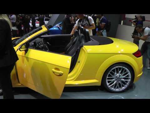 Audi TT roadster | TT sportback Salone di Parigi 2014. HDmotori.it