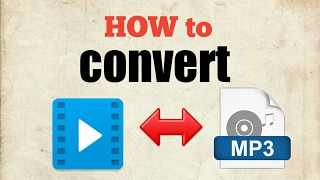 How to convert video to mp3| mp3 to video