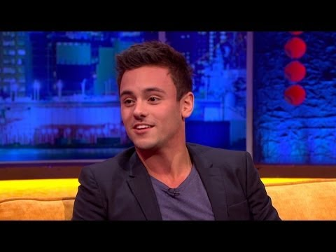 Tom Daley About Coming Out - The Jonathan Ross Show