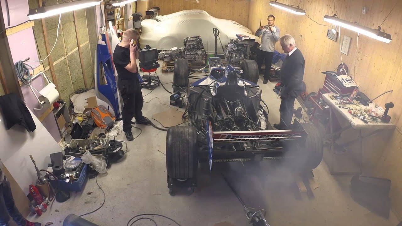 Formula 1 first start-up after 12 years of hibernate Video Thumbnail