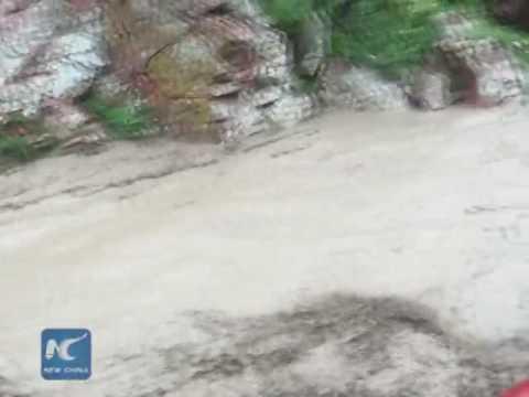 Heavy rains lash China's Xinjiang Uygur Autonomous Region