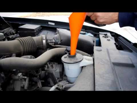 how to add transmission fluid to a car