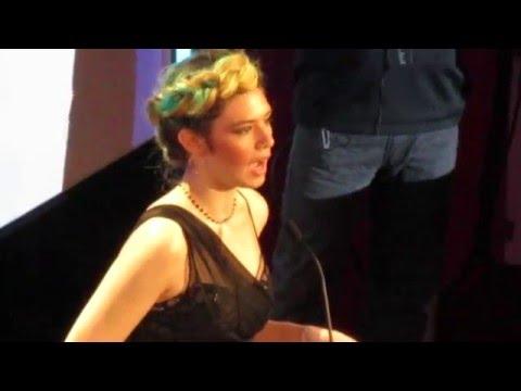 Nicole Maines, Jonas Maines, Wayne Maines at the GLAAD Media Awards 2016