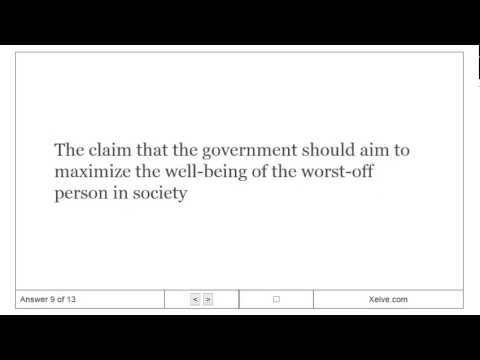 Principles of Economics - 20. Income Inequality and Poverty - Flashcards