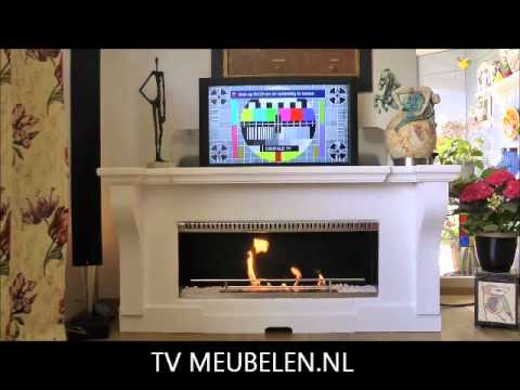 tv lift met openhaard.wmv - YouTube