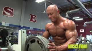 Vladimir Sizov Chest Training