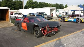 Dillon Motor Speedway 6 28 15  99 in car camera