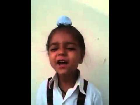 Funny Jan Gan Man By Cute Kid video