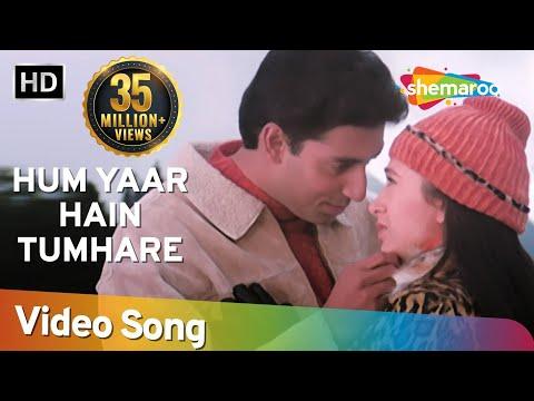 Hum Yaar Hain Tumhare (Male) | Haan Maine Bhi Pyaar Kiya | Abhishek Bachchan | Karishma Kapoor