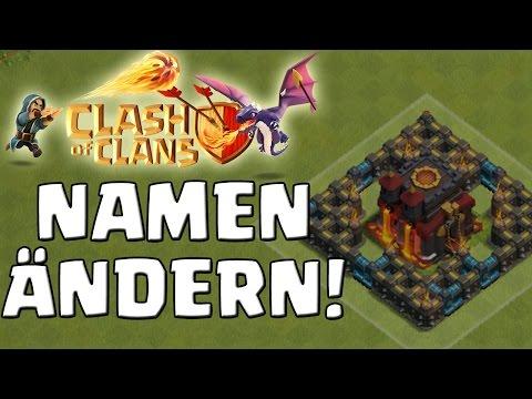 INFO: NAMEN ÄNDERN BEI CLASH OF CLANS! || kleines Infovideo [Deutsch/German HD]
