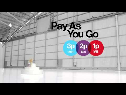Three - Pay as You Go Just Got Serious - Pug 321 Advert