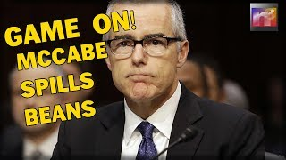 GAME ON! McCabe BROKE Under Oath proving EVERYONE Right!