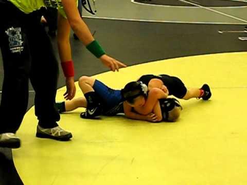 Tyler Phillips @ Commerce High school match 2 wrestling