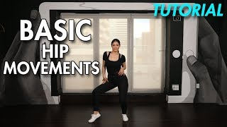 How to do Basic Hip Movements (Hip Hop Dance Moves Tutorial) | MihranTV