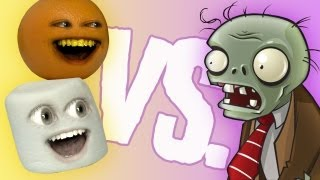 Fruit vs Zombies: Marshmallow