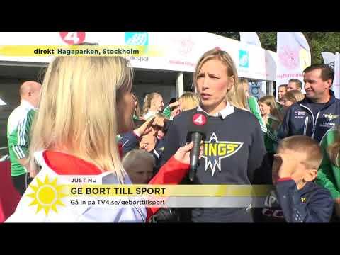 """""""Att hockey måste vara dyrt är en myt"""" - Nyhetsmorgon (TV4)"""