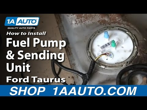 How To Install Fuel Pump and Sending Unit 2001-06 Ford Taurus Mercury Sable