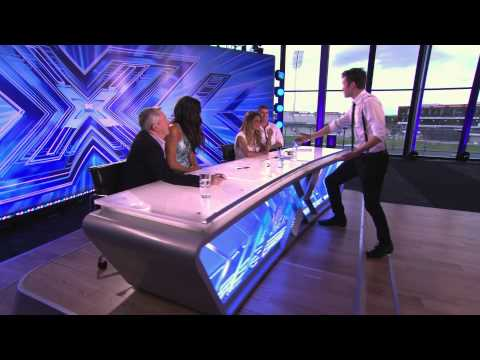 X Factor audition Ben Quinlan