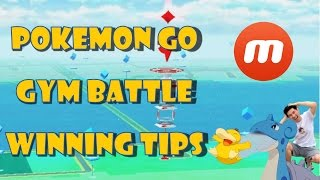 Pokemon Go Gym Battle Winning Tips: Beating Lapras with Psyduck! - Mobizen Facecam Recording