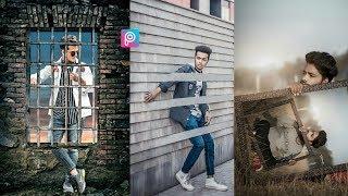 Amazing Wall Creative Editing In PicsArt | New Mobile Photography Tricks | PicsArt Editing Tutorial