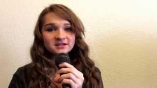 Tatiana Medina Singing Starlight By Taylor Swift