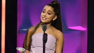 Ariana Grande - Billboard Woman Of The Year Accepting Speech 2018