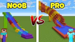 Minecraft NOOB vs. PRO: WATER SLIDE in Minecraft! AVM SHORTS Animation