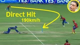 Top 10 best Direct hit run-out in cricket History | Must Watch.