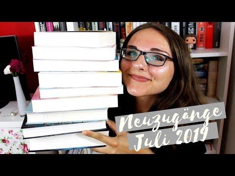 BÜCHER-NEUZUGÄNGE JULI 2019 | Schon wieder so ein großer Stapel | zeilenverliebt
