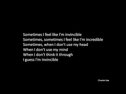 Invincible - Lyrics -  DeStorm | Ray William Johnson | Chester See