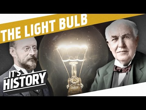 Let There Be Light - The Invention Of The Light Bulb I IT'S HISTORY