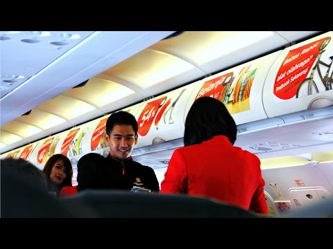 Indonesia AirAsia Flight Review: QZ265 Singapore to Jakarta