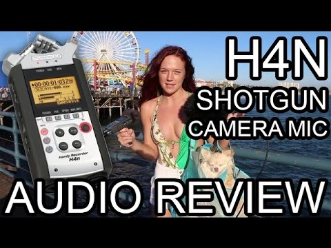 Camera Mic vs H4n Zoom vs Audio Technica Shotgun mic Review