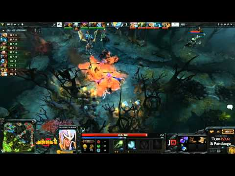 LV Gaming vs LAI Gaming - Sina Cup @TobiWanDOTA & Pandaego
