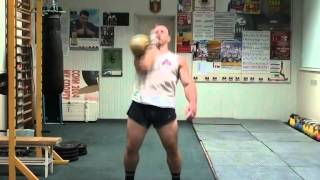 KBs Warm down from Morozov Igor - RGSI Kettlebell workout