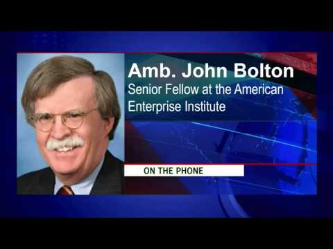 Newsmax: Former U.S. Ambassador to the UN John Bolton Talks Benghazi and the Middle East