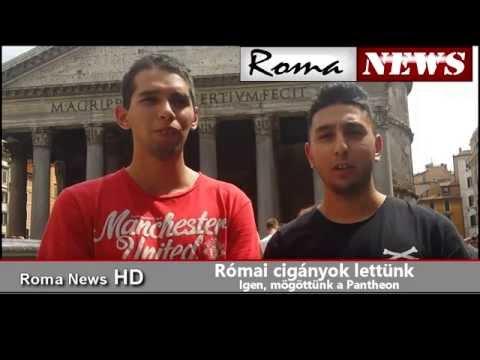 Roma News- Speciálba Rómából