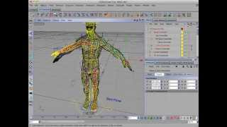 Reusing A CD Character Plugins Rig in Cinema 4D Part 2