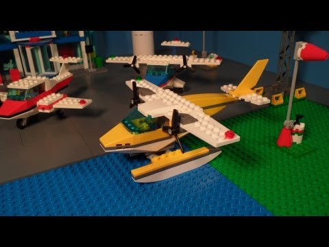 Lego 3178 Review Seaplane City