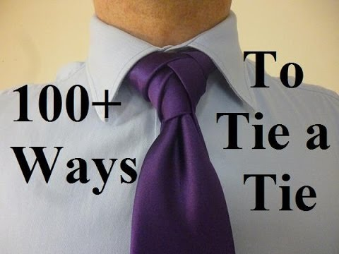 How to tie an Ellie Knot for your Necktie