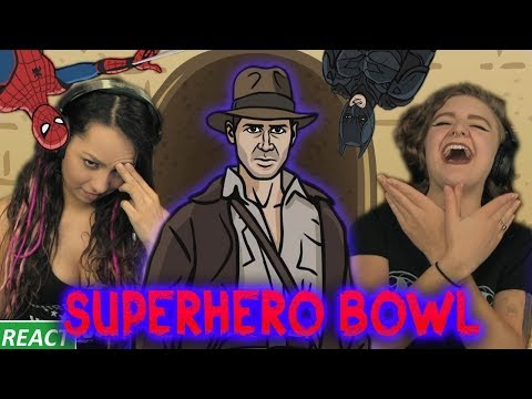 TO THE DEATH! | Girls React | SuperHero Bowl