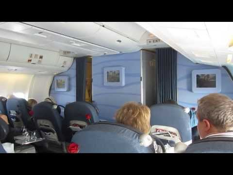 Comfort Class ▶ Condor Comfort Class Flight