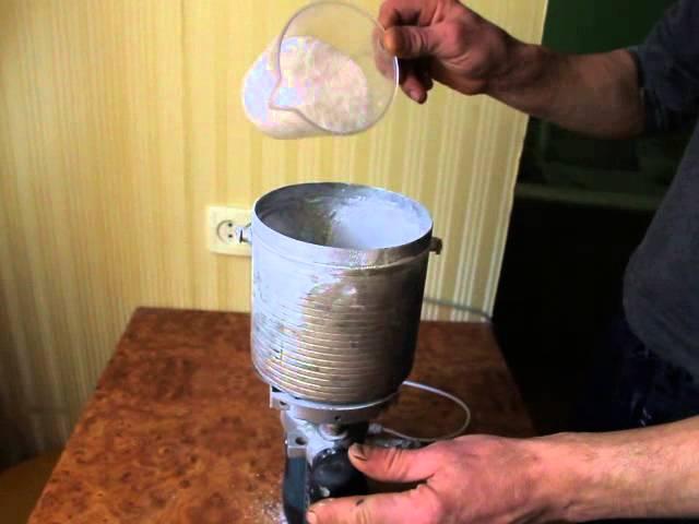 Изготовление пудры в домашних условиях