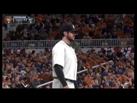 MLB 14 [PS4]: Postseason Sim - ALDS Game 3 - Baltimore Orioles vs Detroit Tigers