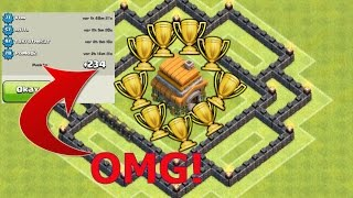 Clash of Clans - NEW BEST TOWN HALL 6 (TH6) Trophy/Clan War Base With Air Sweeper