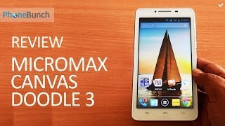 Micromax Canvas Doodle 3 A102 Full Review